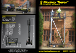 Monkey Tower Brochure